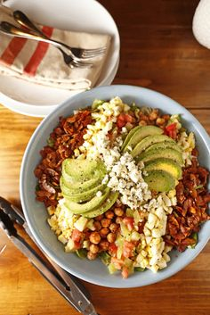 Chickpea Cobb Salad