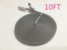 Extra Long 8 Pin to USB 10 ft 3 Meter Sync Transfer Data and Charger Cord Wire for iPhone 6 plus, iPhone 6, iPhone 5s 5c 5, iPad Air, iPad mini, iPad mini 2, iPad 4, iPod 5, and iPod Nano 7 (!!! cable gray) Beautiful baby http://www.amazon.com/dp/B011IVN524/ref=cm_sw_r_pi_dp_sNLPvb02VYFPJ