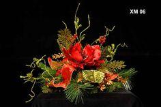 Wholesale Christmas Silk Floral Arrangements, Commercial Holiday Flower Arrangements
