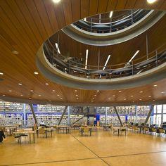 University Library, Mecanoo | Delft | by TeunvandenDries