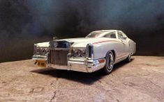 1973 Dunham Corvorado. (ManOfYorkshire) Tags: white chevrolet film scale car sedan movie model automobile cadillac eldorado corvette dunham oneoff jamesbond pimpmobile 143 diecast pimped customised corvorado 347ndg lineletdie