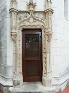 A beautiful door at Hearst Castle