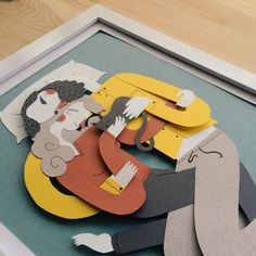 Illustrator Juan Carlos, from Valencia, works with simple illustration and clever layering to bring his imaginative paper figures to life. His work is full of interesting characters with endearing human...