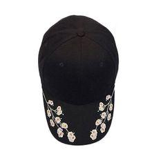 4b198913d4f Snapback 2017 Baseball Cap Women Flower Embroidery Cotton Baseball Cap  Snapback Caps casual summer Hats Gorras