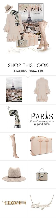 """""""I Love Paris in the Fall"""" by ragnh-mjos ❤ liked on Polyvore featuring WALL, Brandon Maxwell, Annette Görtz, Catherine Catherine Malandrino, Globe-Trotter, rag & bone and Dolce&Gabbana"""