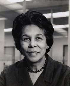 Clara Stanton Jones, the first African American president of the American Library Association.