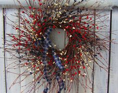 Americana Wreath Welcome Wreath 4th of July Wreath