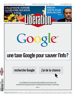 Une Taxe Google pour sauver l'info ?