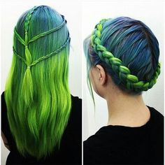 gorgeous colours and style! Makes us think of mermaids.                                                                                                                                                     More