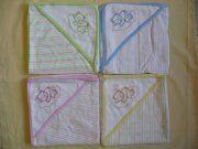 Prodám - Kojenecká bavlněná mako osuška s kapucí 4 barvy, Opava Napkins, Towels, Dinner Napkins