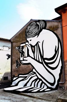 Italian street artist MP5 recently completed a beautiful, monochromatic mural that plays with the surrounding landscape. Entitled Root of Evil, the bold artwork is located in Abruzzo, Italy, where it...