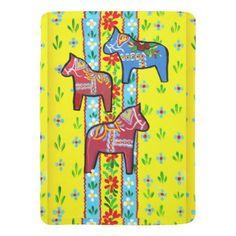 Dala Horses Baby Blanket - baby gifts child new born gift idea diy cyo special unique design