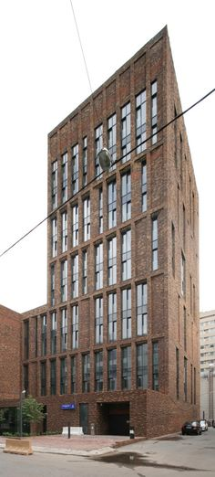 Жилой дом на ул. Бурденко, 3 : Sergey Skuratov Architects