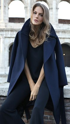 Dying over this Fall coat @cuyana