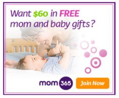 Get $60 in FREE Gifts when you join Mom365 (includes two $20 gift cards)!