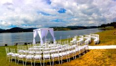 Ceremonia al aire libre! www.fullbodas.com Dolores Park, Travel, Outdoor Ceremony, Weddings, Centerpieces, Viajes, Destinations, Traveling, Trips
