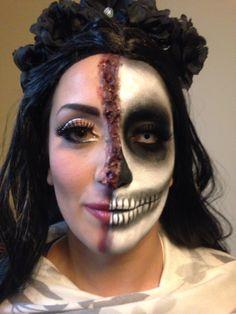Makeup by Louise Croce Halloween Face Makeup