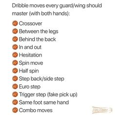 Just minutes a day can do wonders for your ball handling skills ⛹️‍♂️ - Tag someone with handles! 🏀 - Of course, you can work on each of these moves efficiently while using Dr. Basketball Drills For Kids, Basketball Trainer, Basketball Tricks, Basketball Plays, Basketball Workouts, Sports Basketball, College Basketball, Basketball Stuff, Dribbling Drills Basketball