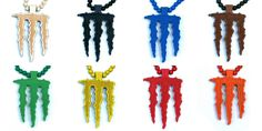 Wood Junkie Necklace Monster - Urban Classics-Shop.nl