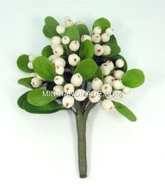 Handmade polymer clay state flowers supplies apple blossom for handmade gifts