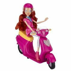 Winx Club Bloom Doll With Scooter by Jakks. $27.95. Winx Club Toys R Us Exclusive. 9 Pieces. NA