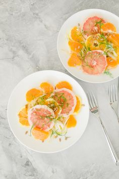 This citrus salad is a refreshing twist on the usual side dish.
