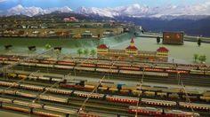 Switzerland model train