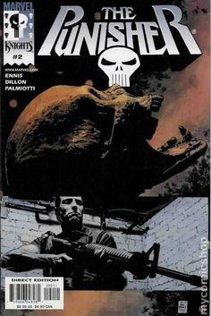 Punisher (2000 5th Series) 2B Marvel Comics Modern Age Comic book covers