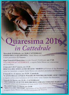 Oria le foto più belle della città, degli eventi, delle persone.: Scenni Cristu a Oria - Quaresima 2016 in Cattedral...