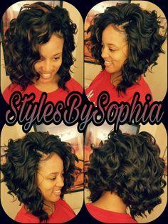 Enjoyable Sexy Curly Bob Hairartbydominique Community Short Hairstyles For Black Women Fulllsitofus