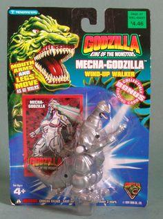 Mecha-Godzilla Wind Up Walking Figure
