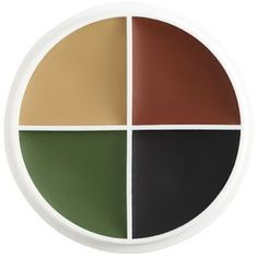 Intense pigmentation in a smooth Crème formula for consistent application, blending, versatility and durability. Clown, mime and versatile design shades. Please note that any color sample Camouflage Colors, Ben Nye, Fx Makeup, 1 Oz, Clean Up, Face And Body, Body Painting, Alcohol, Brush Set