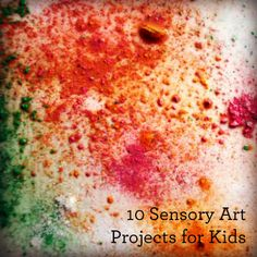 10 Sensory Art Projects For Kids