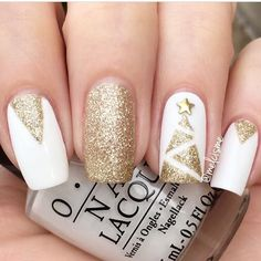 WEBSTA @ hbbeautybar - ❄️✨ Posh Christmas Mani ✨❄️ @melcismeShop her look in bio➕15% OFF OPI 'Alpine Snow' from @hbbeautybar Enjoy 15% OFF With Code: GRAB15 ✌️✨ #hbbeautybar