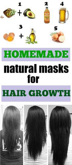 Homemade Hair Growth Masks - Extra Beauty Tips
