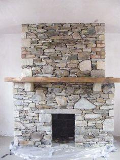 Stonecraft Blessington The Stone Mason Stone Masonry, Dry Stone, Log Burner, Fireplaces, Cl, House Ideas, Decorating Ideas, Shelves, Wood