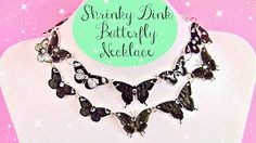 The Beading Gem's Journal: Easy Shrink Plastic Butterfly Necklace Tutorial