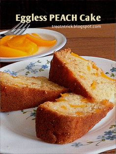 It's time for a treat that won't make you feel guilty, lightly sweetened, this dessert looks as good as it looks. I'm using cann. Eggless Desserts, Eggless Recipes, Eggless Baking, Vegan Desserts, Baking Recipes, Recipe For Eggless Cake, Vegan Sweets, Delicious Desserts, Vegan Recipes