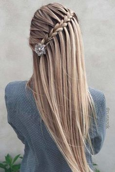 Incredibly beautiful braids for the Christmas party ★ See also-Unglaublich schöne Zöpfe für die Weihnachtsfeier ★ Siehe auch: loveha – New Site Incredibly beautiful braids for the Christmas party ★ See also: loveha – refer party - Pretty Braids, Cool Braids, Beautiful Braids, Pretty Updos, 2 Braids, Pretty Braided Hairstyles, Box Braids Hairstyles, Girl Hairstyles, Wedding Hairstyles