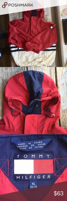 Vintage Tommy Hilfiger Jacket Very cool Tommy Hilfiger jacket. Slightly bigger on me than I anticipated or else I would keep this lovely jacket. Tommy Hilfiger Jackets & Coats Windbreakers