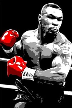 Mike Tyson poster for man cave Boxing Gym, Mma Boxing, Boxing Workout, Bon Sport, Boxe Fight, Boxe Mma, Mike Tyson Boxing, Combat Boxe, Thai Boxe