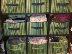 Canvas Containers for Kids Room Storage