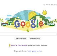 Google realiza un Doodle de la Copa del Mundo 2014