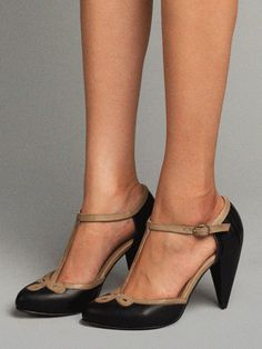 Not totally accurate (not kitten heels) but gorgeous and would do... |  All Dressed Up, Seychelles Footwear