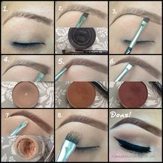 Eyebrow love. Good eyebrows are as important as good makeup.