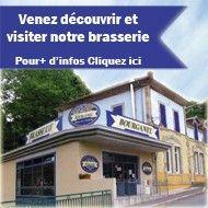 Venez visiter notre brasserie !  Ardeche brewery that also makes chestnut beer.