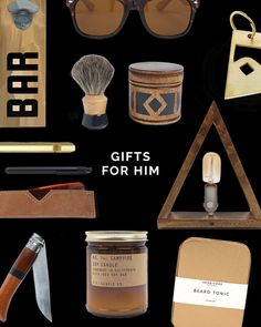 Guys are the hardest to shop for! Am I right or am I right?! We're making it a little easier on your with a gift guide full of our favorite finds across the US.