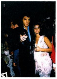 Elvis and Priscilla  7/30/69