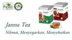 Janna Tea Cool dan Janna Tea Hot HPAI hanya d griya herbal azka