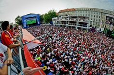 Poznan Poland - the Host City of UEFA EURO 2012, Fan Zone